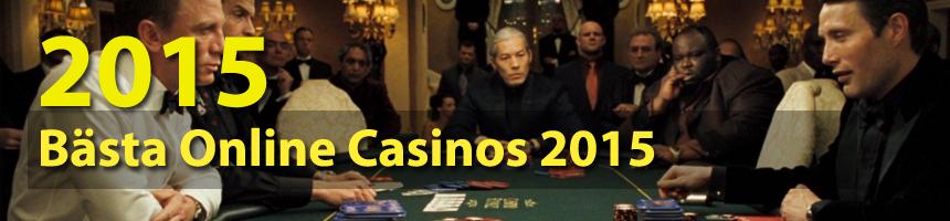 Best Online Casinos 2015