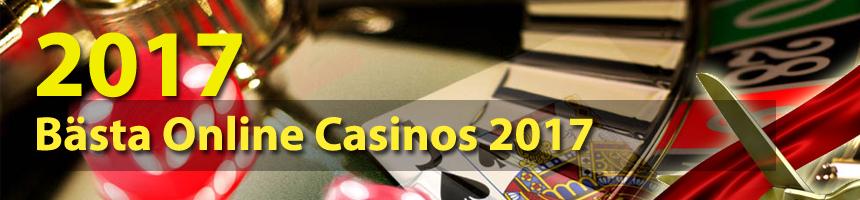 Bästa Online Casinos 2017