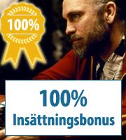 100% kasinobonukset