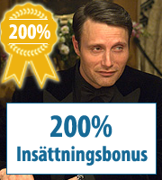 200% kasinobonukset