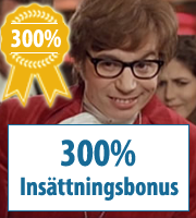 300% kasinobonukset