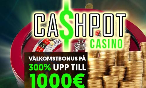 CashPot Casino Sweden