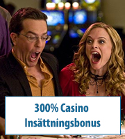 300% Casino Insättningsbonus