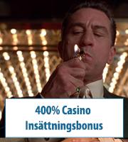 400% Casino Insättningsbonus