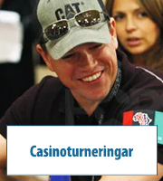 Casinoturneringar