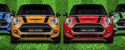 Spinn och Vinn Mini Cooper hos PlayOJO varje vecka!