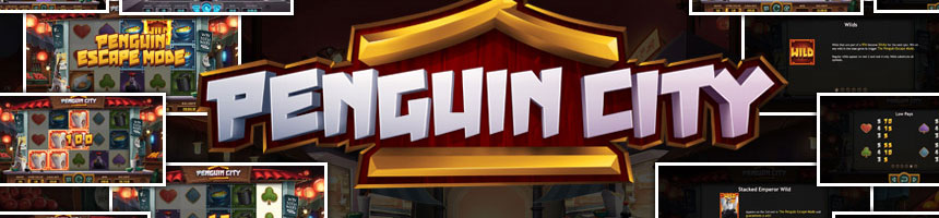Panguin City slot game