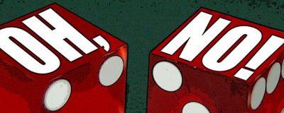 Dåliga Odds: Betta aldrig för att gå jämnt ut på ett casino