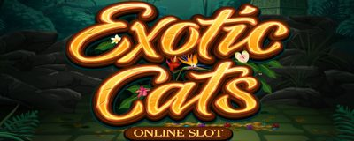 Microgaming Släpper: Exotic Cats