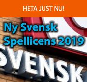 Ny Svensk Spellicens 2019