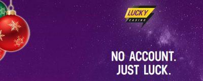 40 Dagar Julbonusar hos Lucky Casino