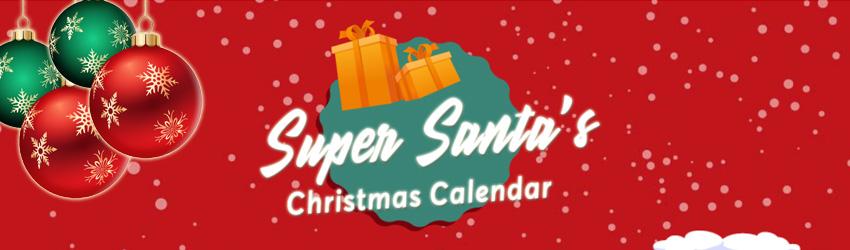 InstaCasino - Super Santa Julkalender