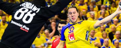 Kanonstart för Sverige i premiärmatchen mot Egypten i Handbolls VM