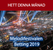 Melodifestivalen Betting 2019