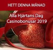 Alla Hjärtans Dag Casinobonusar 2019