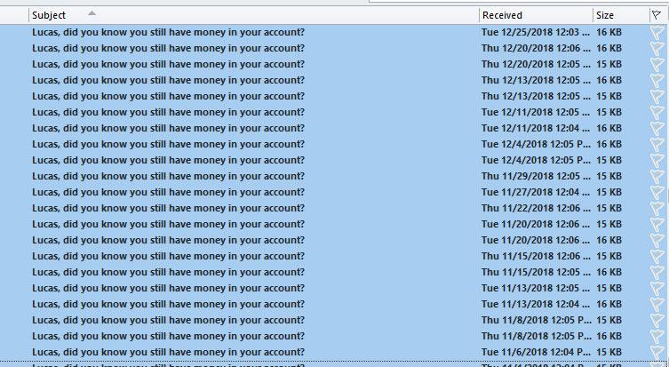 spam casino emails