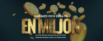 1 Miljon kronor till Nya Spelare hos No Account Casino