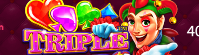 Få 400 Free Spins på Triple Jokers