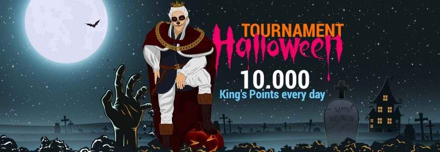Kungens Halloween Turnering Har Kommit Till King Billy Casino