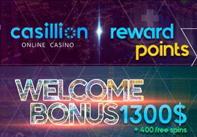 Med Casillion Casino kan du alltid förvänta dig mer action och mer kul.