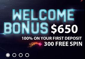 Detta casino är ett helt universum som har många planeter (leverantörer) att njuta av och vinna.