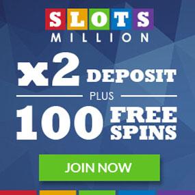 Slots Million Casino är ett mångsidigt onlinecasino som är helt direkt och har över 1100 bonusspel.