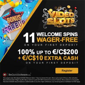 Videoslots.com – Ett riktigt kasino online