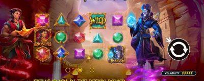 Var med i striden mellan Aladdin och Jafar via Pragmatic Plays nya Spel