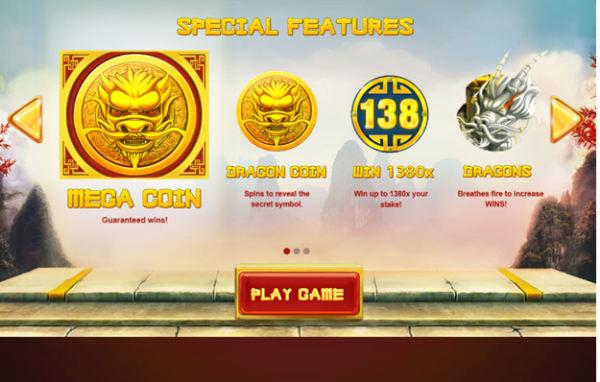 Special Features of the Dragon's Luck slot