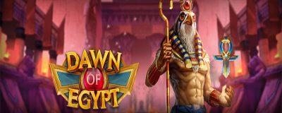 Play'n GO Fortsätter Ambitiöst Att Släppa Slots med Nya Dawn Of Egypt