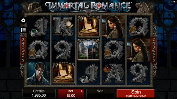 Immortal Romance Slot - a Valentine Classic