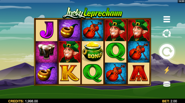 Microgaming's Lucky Leprechaun slot