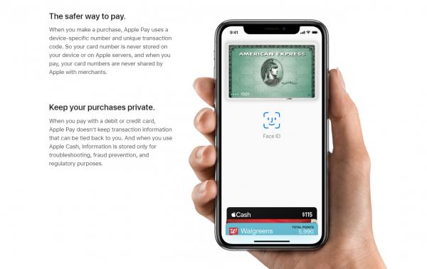 Varje transaktion med Apple Pay är säker
