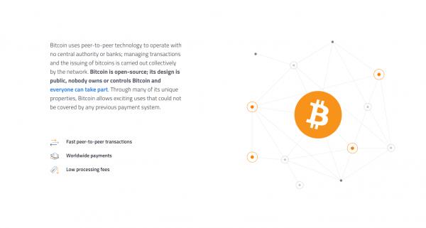Bitcoin insättningar görs peer-to-peer