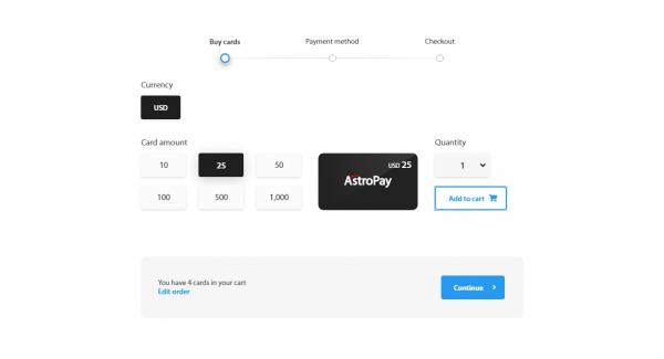 Enkla betalningar med AstroPay