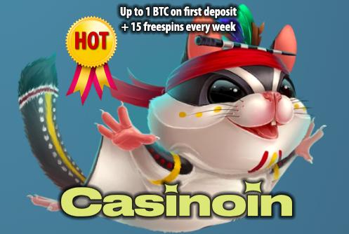 Casinoin Casino Hot Offer