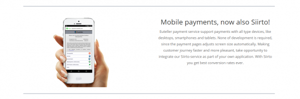 Mobilbetalningar med Euteller
