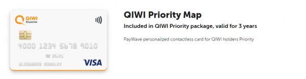 Qiwi kort vid online betalningar