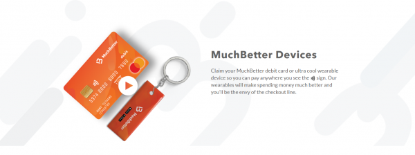 MuchBetter devices for easy payments