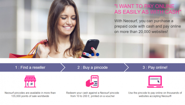 Easy Neosurf payments