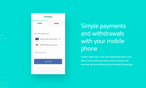 Zimpler payments are free of charge