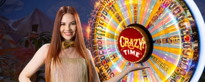 Evolution Gaming Lanserar Crazy Time Live