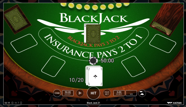 Wazdan blackjack tables are a must-try for all 21 enthusiasts