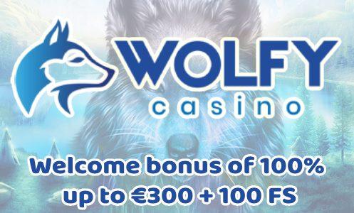 Wolfy Casino Welcome Bonus